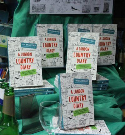 A London Country Diary by Tim Bradford – The Launch Party!